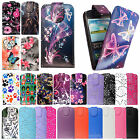 FOR SAMSUNG GALAXY S3 S III MINI i8190 PRINTED LEATHER MAGNETIC FLIP CASE COVER