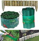 Garden Lawn Edge Edging Border Panel Protector Plastic / Wood Fence Tidy Roll