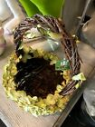 Hydrangea Basket Easter Spring decoration e3252295 NEW RAZ Imports