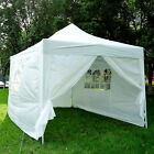 New Garden Heavy Duty Pop Up Gazebo Marquee Party Tent Wedding Canopy 4 Sizes