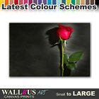 Roses Flower Love FLORAL  Canvas Print Framed Photo Picture Wall Artwork WA