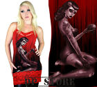 TOO FAST GOTHIC PUNK EMO GOTH CAMILLE TANK VINTAGE ZOMBIE SKULL SHIRT ROCKABILLY