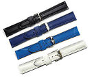 18mm 20mm 22mm Heavy Divers Watch Strap in Rubber  Black, Blue, White