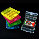 Portable Storage Battery Cell Holder Box Case Hard Plastic for AAA AA 2A 3A LOT