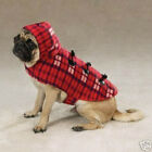 Zack & Zoey Hooded Plaid Yukon Dog Coat Jacket RED BROWN LIMITED SIZES! HURRY!