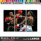 Mike Tyson Lennox Lewis Boxing Canvas Print Framed Photo Picture Wall Artwork WA