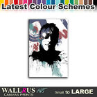 Paul Weller Music MOD Icon Canvas Print Framed Photo Picture Wall Artwork WA