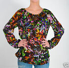 Tolani Juanita Top Blouse in Multi Floral Colors 8270