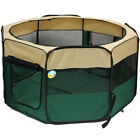 ME & MY PET DOG/PUPPY/CAT/RABBIT FOLDING FABRIC INDOOR/GARDEN PLAY PEN/RUN/CAGE