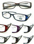 (R348C)3 Pairs of Plastic Frame reading glasses in 8 different colours