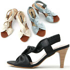 New High Heel Summer Comfort Band Sandal Womens Shoes Multi Colored