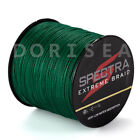Hot 100% PE Dyneema Dorisea Braid  Fishing Line moss green 100M 300M 500M 1000M