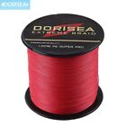 Dorisea RED 100M~2000M PE Dyneema EXTREME Braid Fishing Line Power Casting