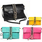 Freeshipp BB365 Studs clutch messager shoulder Bag WOMENS HANDBAG A16