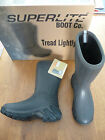 SUPERLITE 'FIELD' BROWN BARK BOOTS WELLIES WELLINGTONS    BNIB