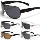 Oversized Mens Polarized Fishing Driving Sunglasses Fashion Aviator Sunnies New