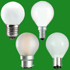10x Opal Golf Dimmable Standard Light Bulbs 25W 40W 60W BC ES SBC SES Lamps