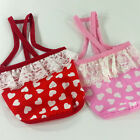 Dog&Cat Clothes Tank Shirts Heart Patterns Halters_A718