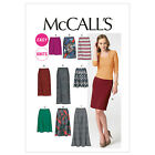 McCall's 6654 Easy Sewing Pattern to MAKE Stretch Knit Skirts in 7 Lengths