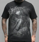 Sullen Pin Up Punk Street Gothic Devil Rockabilly Tattoo Mens Tee SWEET DREAMS