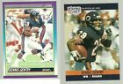Dennis Gentry Chicago Bears 1990 Score, 1990 Pro Set