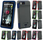 NAZTECH VERTEX SOFT RUBBER SKIN HARD CASE FOR MOTOROLA DROID-X MB810 DROID-X2