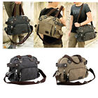 New Men's Canvas Casual GYM Shoulder Messenger Satchel Purse School Bag Travel