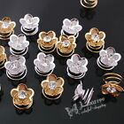 E732 Upick Fashion Crystal Stone Swirl Hairpins Bridal Wedding Hair Accessories