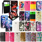 FOR SONY XPERIA SP M35h STYLISH BOOK SIDE CARD HOLDER LEATHER FLIP COVER+STYLUS
