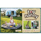 2 Red Hens Toy Nanny Tote - Portable Play Mat & Toy Carrying Case in One