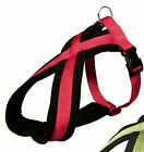 Trixie Fabric Nylon Soft Padded Red Dog Harness All Sizes