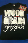 Wood Grain Grippin Down South Christians Black Shirt S-2XL Piranha Records