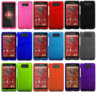 For Verizon Motorola Droid Maxx XT1080M Rubberized HARD Case Snap On Phone Cover