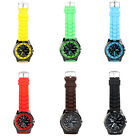 Stylish Silicone Strap Casual Wrist Watch Men Women Unisex 6 Colors