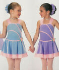 Sisters Lyrical Dance Dress Ballet Costume Christmas Child Extra Small Clearance