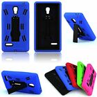 Heavy Duty Armor Dual Layer Hybrid Impact Hard Case Cover For LG Optimus L9 P769