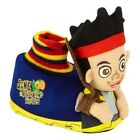 JAKE & NEVERLAND PIRATES Plush Sock-Top Slippers NWT Sz. 5/6, 7/8, 9/10 or 11/12