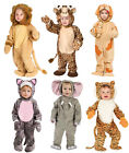 Plush Animal Toddler Costumes - Halloween Fancy Dress Outfit - 12 - 24 Months