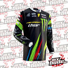 Thor 2013 2014 Phase Monster Energy Jersey Motocross Enduro MX Quad Shirt Trikot