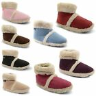 Ladies Coolers Warm Microsuede Fluffy Womens Slippers Boots Size UK 3 4 5 6 7 8