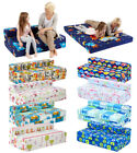 Childrens Character Kids Double Guest Folding Z Bed Sleeping Mattress Sofabed