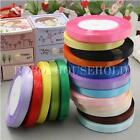 22 Metres 15mm Satin Ribbon Roll Wedding Party Cake Craft Gift Decoration Tape