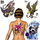 BUY 2 GET 1 FREE!! Extra Large A4 Size Temporary Transfer Tattoo Sheets Stickers