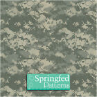 DIGITAL URBAN CAMO PATTERN VINYL #1 GREEN CLOTH Camouflage Decal Scrapbook Craft