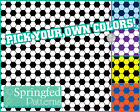 SOCCER BALL HEX PATTERN VINYL #1 Craft Decal Sheets Scrapbook PICK YOUR COLORS