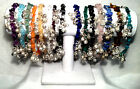 ANKLET HANDMADE SEMI PRECIOUS STONE CHIP & SILVER BELLS - DISCOVER CRYSTAL POWER