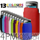 LEATHER PULL TAB POUCH SKIN CASE COVER FOR SAMSUNG S8530 WAVE 2