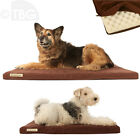 ORTHOPAEDIC FOAM DOG BEDS Mattress Removable Washable Slab BED Zipped Cover
