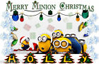 PERSONALIZED CHRISTMAS MINION T-SHIRT ALL SIZES