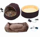 New Electric Heated Pet Bed Dog Cat Puppy Kitty Heating Nest